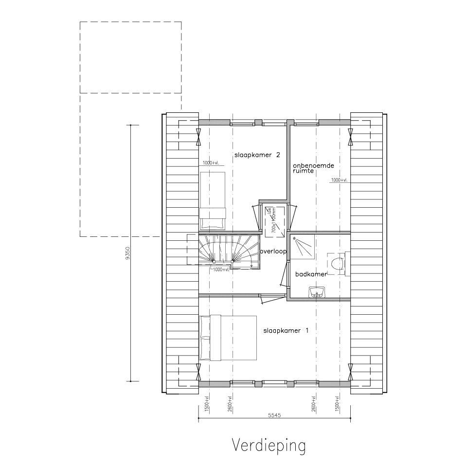 Gorate G 410 1 verdieping | Gorate Garant Woningen