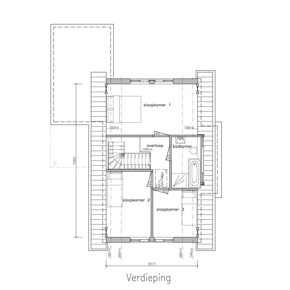 Plattegrond g 480 model 1 1 | Gorate Garant Woningen