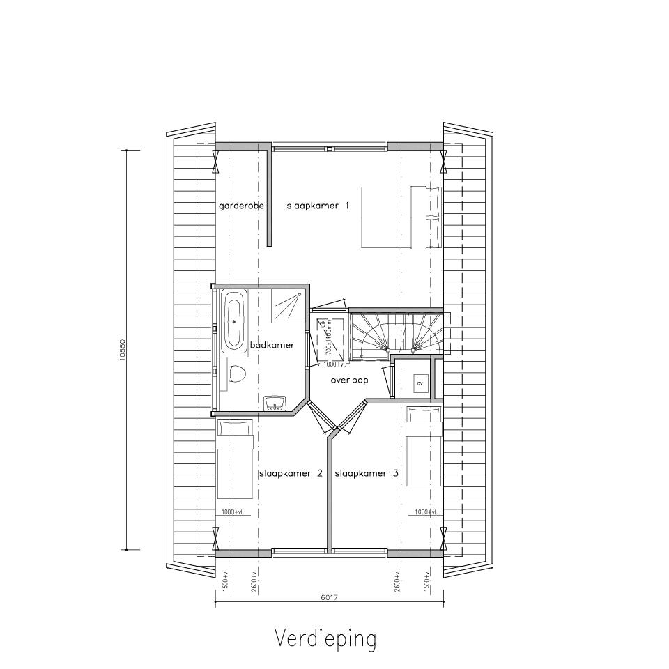 Plattegrond gx 480 1   Gorate Garant Woningen