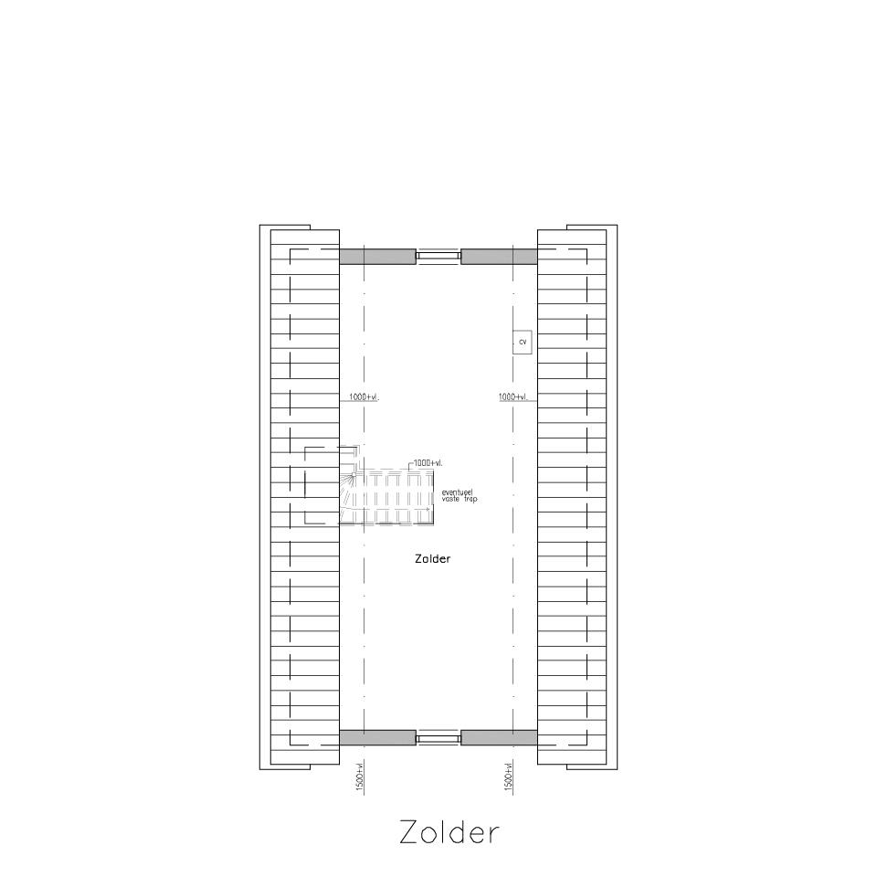 Plattegrond xg 530 model 1 3   Gorate Garant Woningen